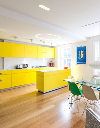 Yellow kitchen! 2014
